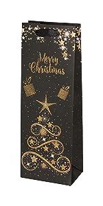 Christmas Wine Gift Bags