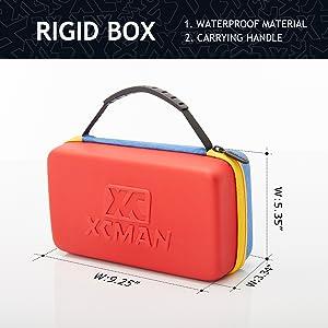 XCMAN Ski Snowboard Kit bag Rigid Waterproof bag