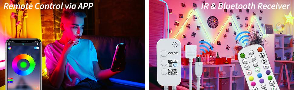 100ft led strip lights for bedroom