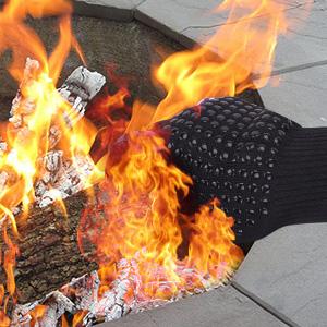 guantes para horno