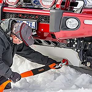 Vehicle recovery in snow