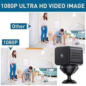 Mini WiFi Spy Camera HD 1080P Wireless Hidden Camera