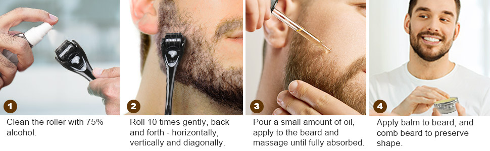 Facial Hair Growth set
