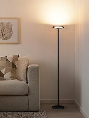 Floor lamp warm white