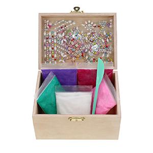 jewelry box for girls, creative kraft kit