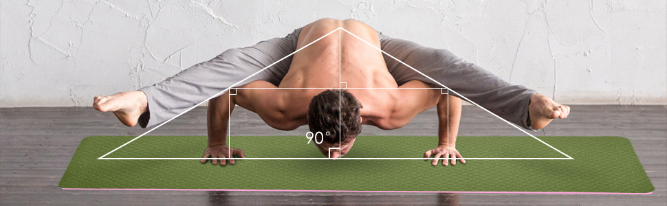 Workout Mats for Home, Pilates and Floor Exercises