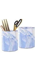 pencil holder blue