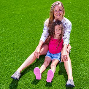 mother and daughter in joybees footwear