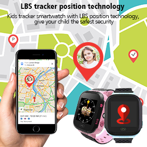 LBS tracker position technology
