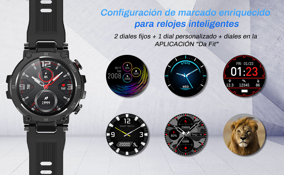 smart watch reloj inteligente hombre