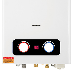tankless water heater camping water heater