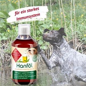 ChronoBalance Hanföl für Hunde - 100% Rein und Natürlich 100ml
