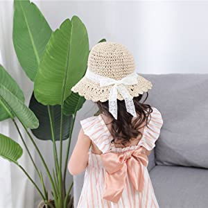 Baby Sun  Paper Straw Hat Size Guide