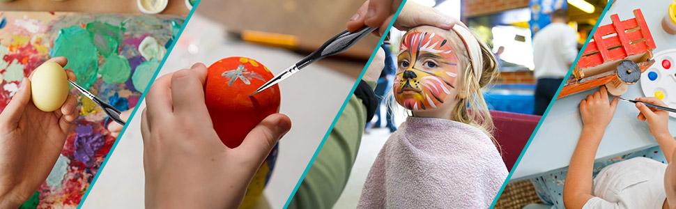 detail paint brush