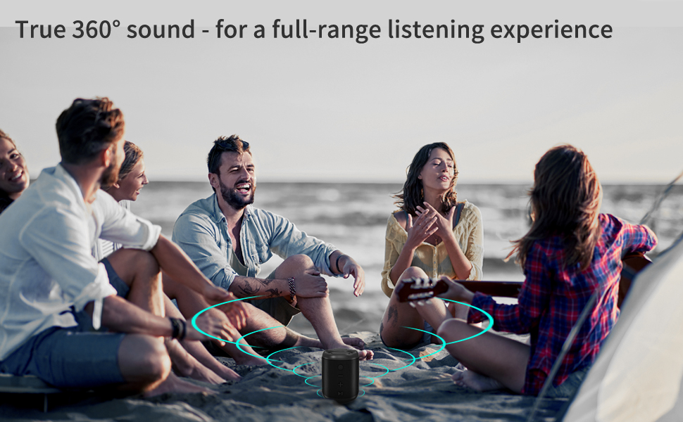 1  [Upgraded] Bluetooth Speakers,MusiBaby Bluetooth Speaker 5.0,Outdoor,Waterproof,Wireless Speaker,Dual Pairing,Loud Stereo Sound,Booming Bass,25h Playtime for Camping,Beach,Pool,Shower(Black) 1ae08703 2471 468e be4f 08031c752f73