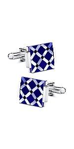 Blue Cufflinks for men