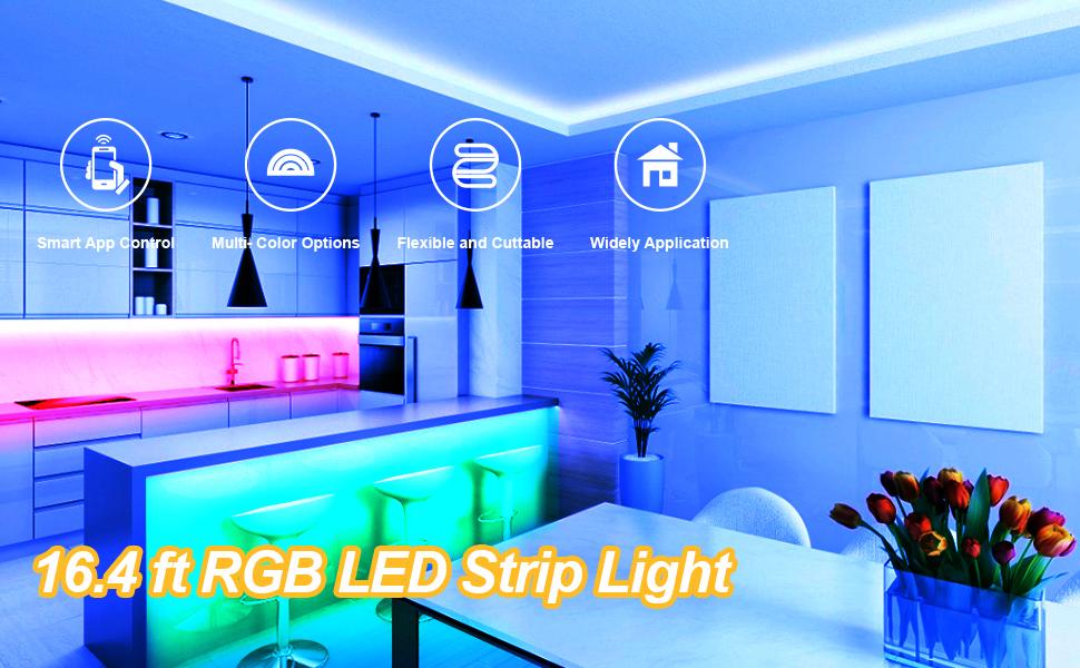 Four Advantages Of SMD 5050 Flexiable LED Strip Lights