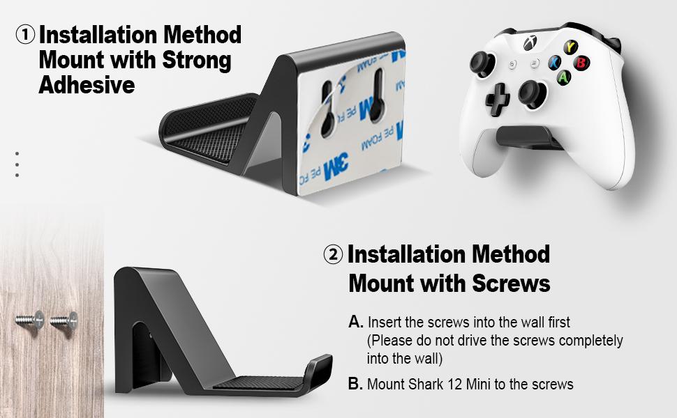controller wall mount holder