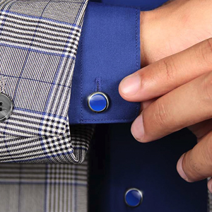 AUXILRY Botones De Camisa Avanzados, Estilos Intercambiables - Gemelos Alternativos Para Hombres, Cubiertas De Botones De Latón Chapado