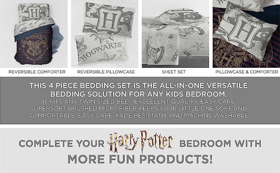 Harry Potter, Bed Set, Sheet Set