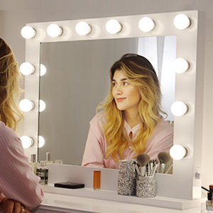 Amazon Com Chende Hollywood Lighted Makeup Vanity Mirror