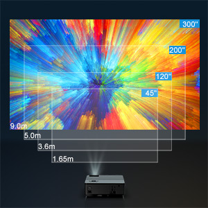 Proyector,YABER 6000 Lúmenes Proyector Full HD 1920x1080P Nativo ...