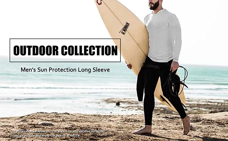 Sun Protection Shirts For Men
