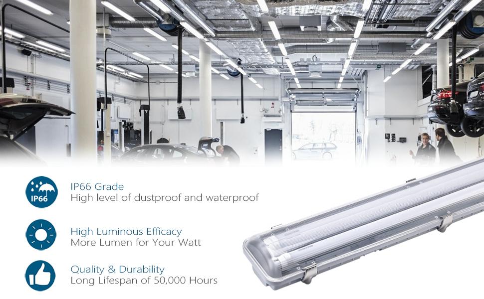 LED Vapor Proof Light LED shop light LED tube light