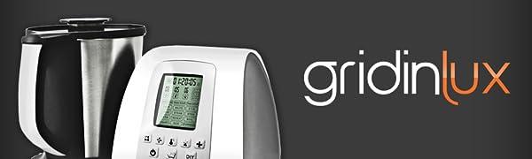 GRIDINLUX. Robot de cocina Multifunciones. 10 Velocidades, Jarra ...