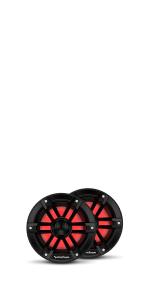 6 inch speaker with color lights