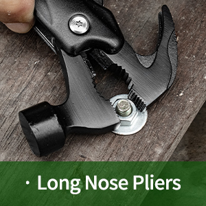 Needle Nose Plier and Standard Plier