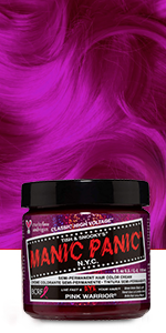 Pink Warrior  Hair Dye Color