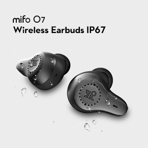 безжични слушалки mifo O7 за спорт IPX7 водоустойчиви и прахоустойчиви за бягане на ски пътуване