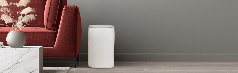 smart trash can, decorative trash can, smart home  motion sensor trash can kitchen trash can