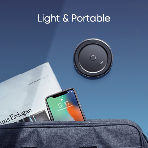 Lightning and portable wireless charger