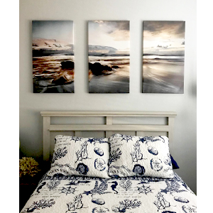 ocean painting canvas