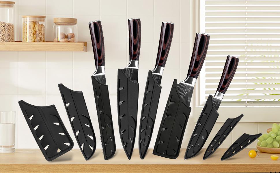 9pcs knife sheath
