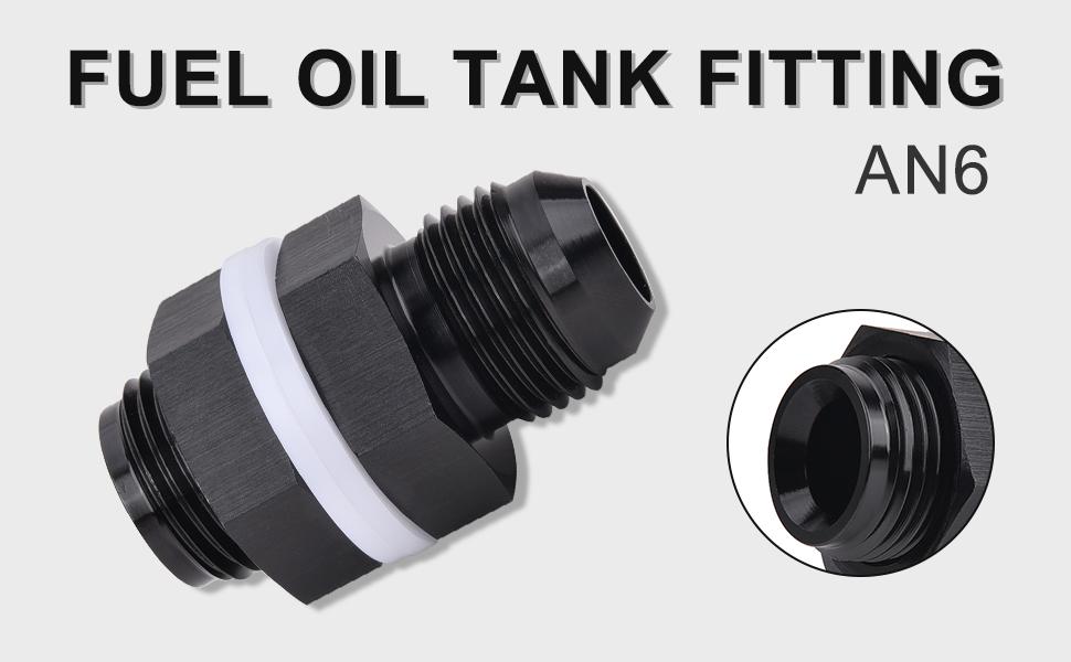 Fuel oil tank fitting