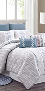 Tribeca 8-Piece Comforter Set