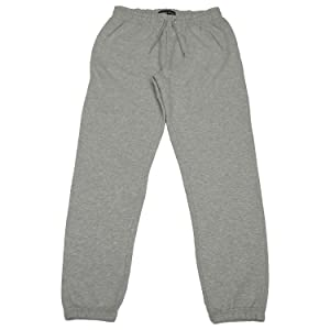 grey jogger pants sport soft warm fleece protection
