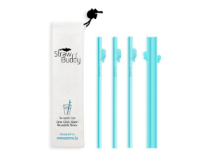 reusable straws, easy to clean, bamboo straws, silicone straws, dishwasher safe, shore buddies
