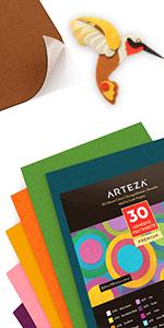ARTZ-8670_Assorted_30_Colors_Adhesive_Backed_Felt