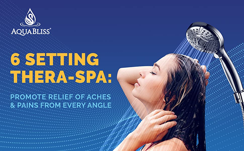 AquaBliss 6 Setting Thera-Spa:  Promote Relief of Aches & Pains from Every Angle