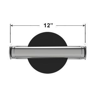 Dimensions of Paper Towel Holder Mounted on Wall