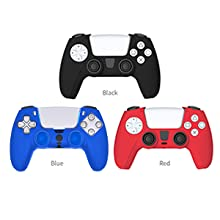 PS5 Controller Grip Skin Anti-Slip Silicone Cover Case Joystick Protector PlayStation 5 Thumb Grips