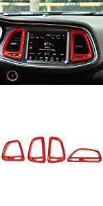 Air Conditioning Vents Cover Trim for Dodge Challenger