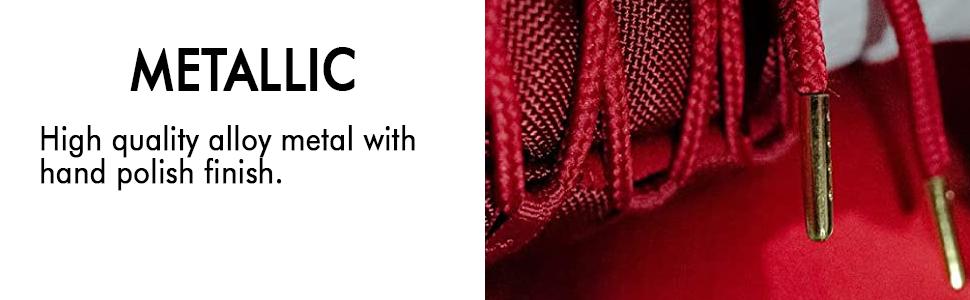 Shoe Lace Aglet Metallic Tips