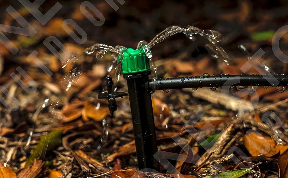 dripper, drip stake, drip emitter, drip irrigation,