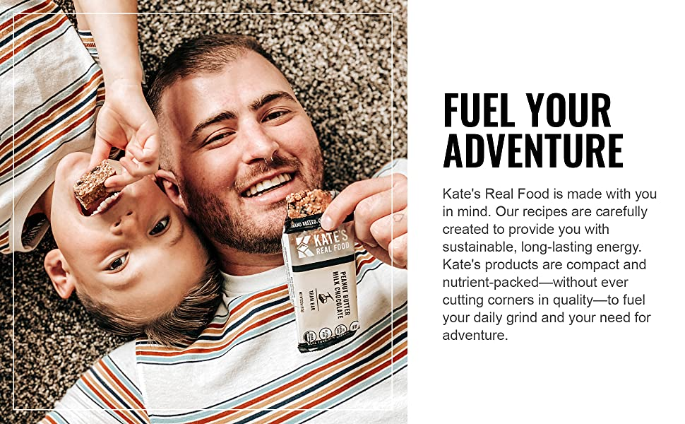 kates real food granola energy protein organic hiking snack health chocolate peanut butter coconut