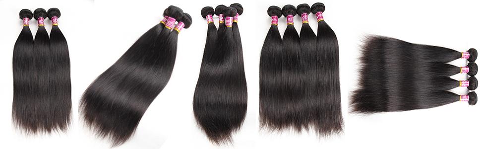 Brazilian Straight Bundles Human Hair